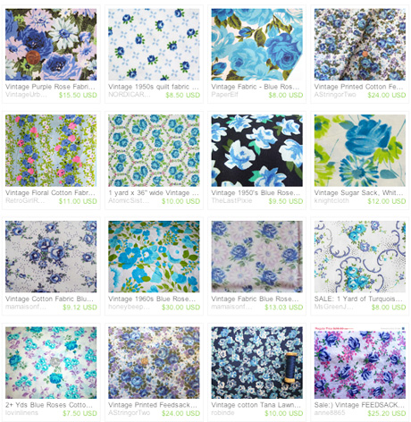 Blue roses treasury