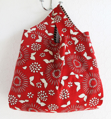 Large Red Grocery Bag