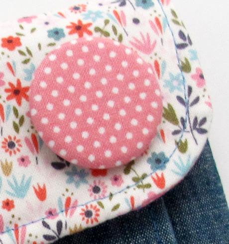 Pink button
