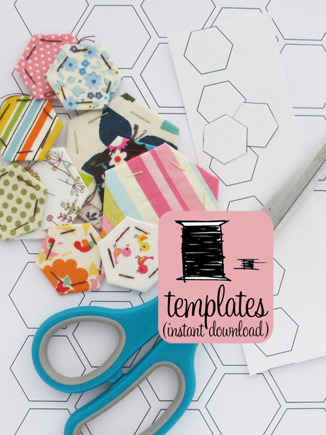 Print at Home Hexagon Papers