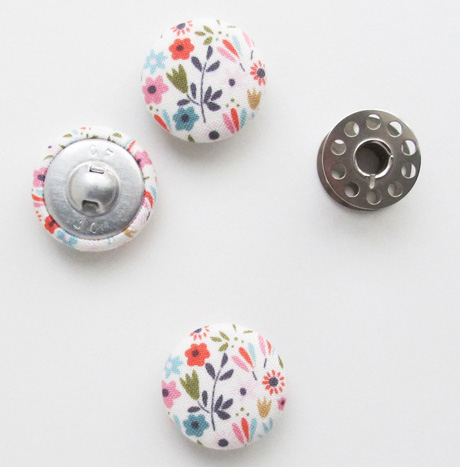 Tiny Floral 1 Inch Buttons