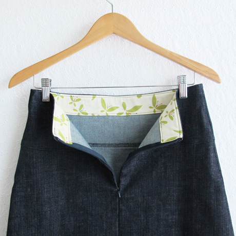 Stretch Denim Waistband