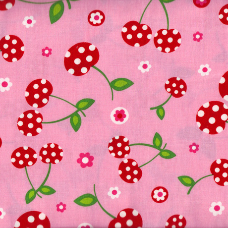 Cherry Party Picnic Fabric