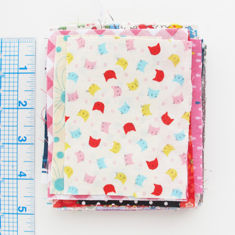 Quilting cotton fabric scraps