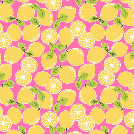 Tutti Fruitti Lemon Drop Pink