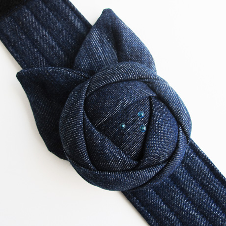 Extra Large Denim Cuff