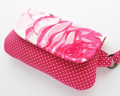 Fold Over Zip Wristlet