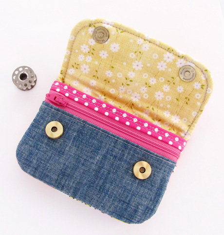 Patchwork Pouch Inside
