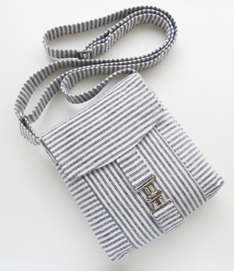 Size 3 Linen Stripe