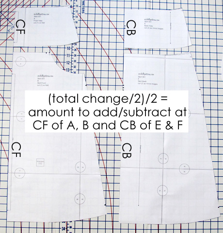 Add subtract width