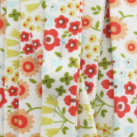 Woodland Spring Quilt Binding