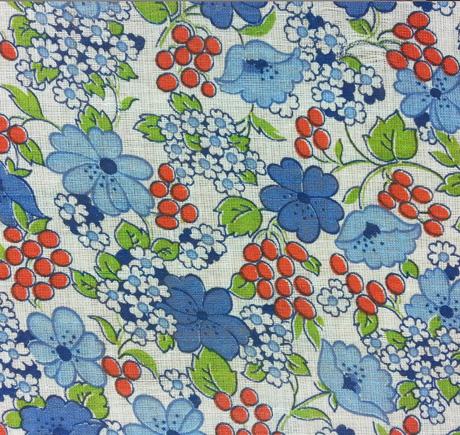 Vintage Berries and Flowers
