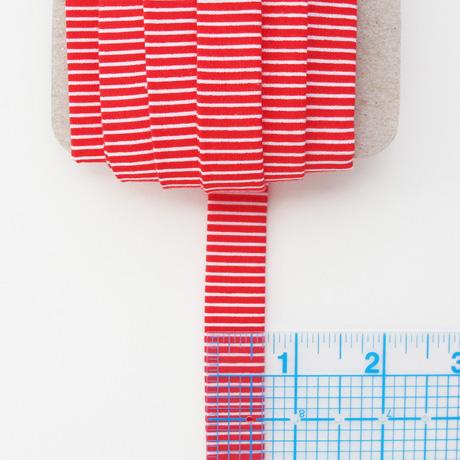 Red stripe binding