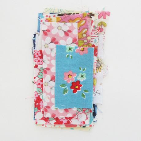 Tiny fabric scraps 3
