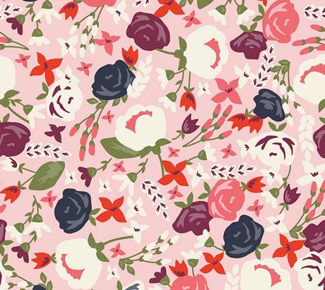 Posy Garden Fabric