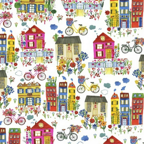 Houses Flower Pedal Carolyn Gavin