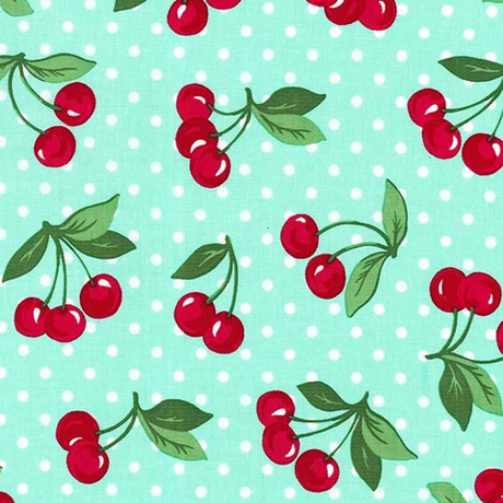 Cherry Dot Fabric