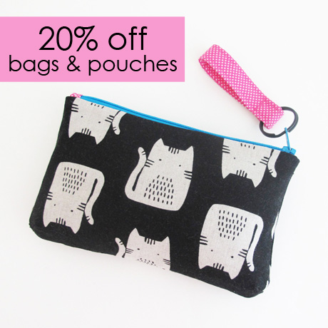 20% Off Bags and Pouches