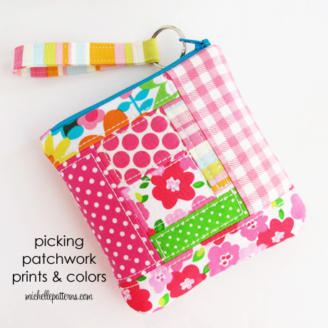 Picking patchwork prints and colors