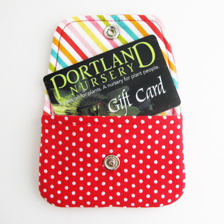 Gift Card Pouch