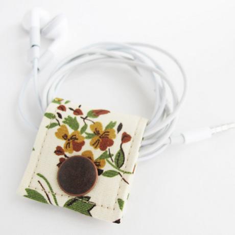 Vintage fabric cord keeper