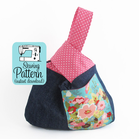 Knot bag pdf sewing pattern