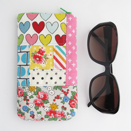 Size 2 Patchwork Glasses Case
