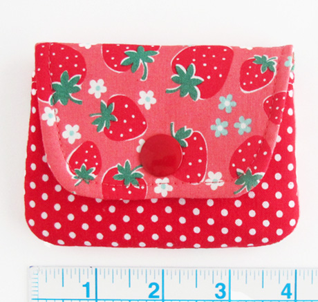 Strawberry Card Wallet