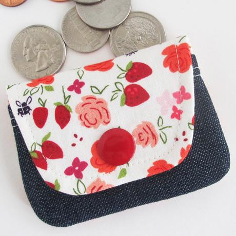 Strawberry Coin Purse