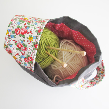 Makes a nice knit or crochet project tote