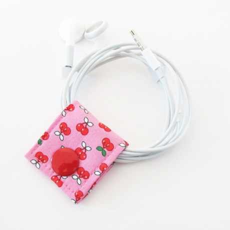 Lucky Cherries Cord Keeper