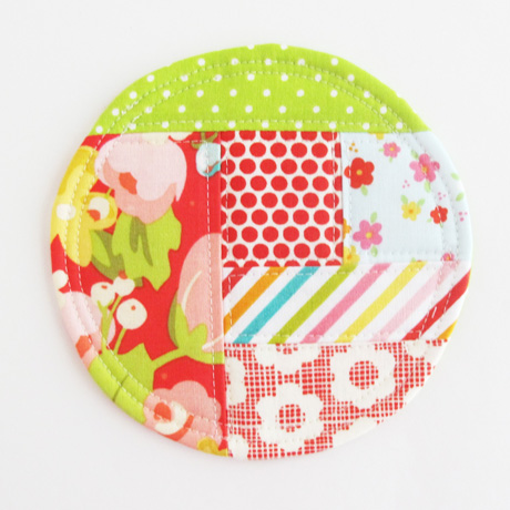 Absorbent fabric drink coaster 2018.4