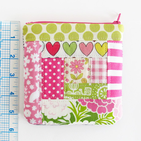 #12 patchwork sample pouch