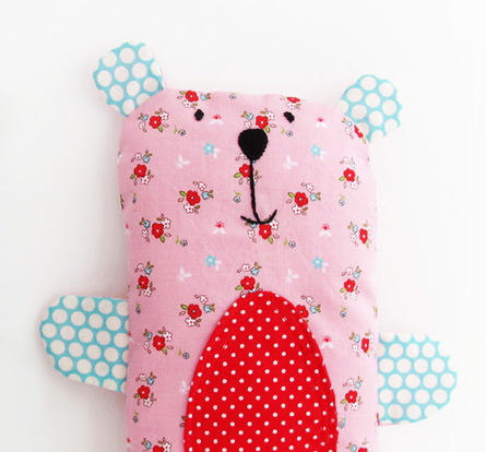 Pink bailey bear