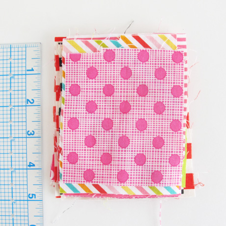 Quilting cotton dots and stripes