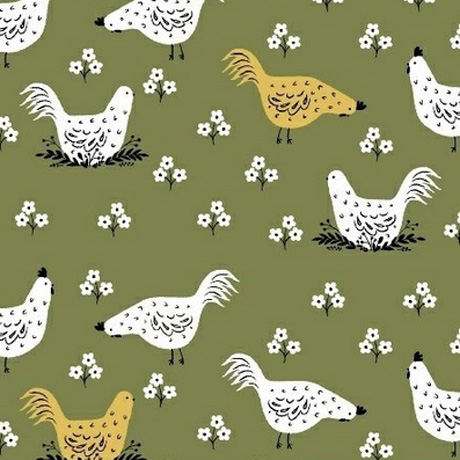 Chicken Farm Windham Fabrics