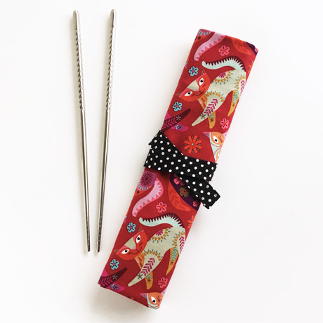 Stitch Cats Chopstick Wrap