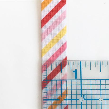Fancy Free Bias Stripe Quilt Binding