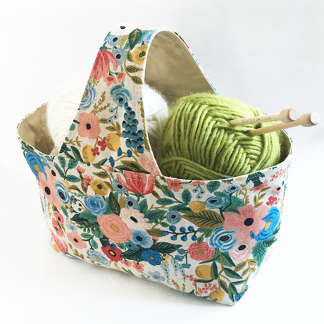 Rifle Paper Wildwood Basket Bag