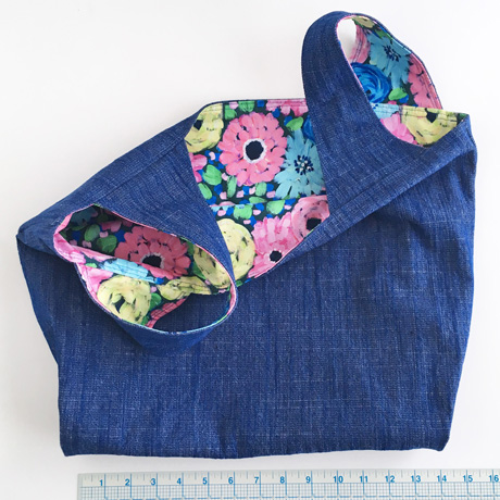 Bluebottle Denim with Katealicea Floral