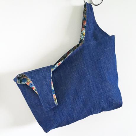 Bluebottle Field Denim Grocery Bag