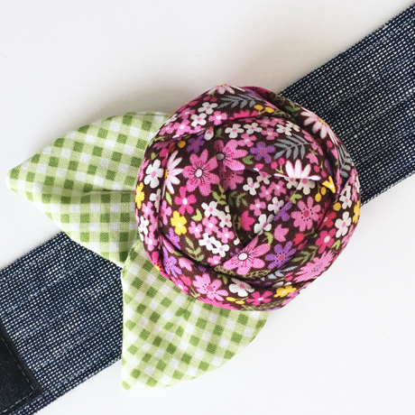 Bloom Rose Pincushion Cuff