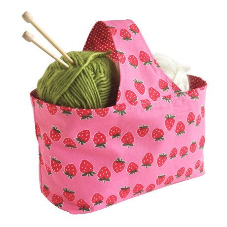 Strawberry Basket Bag