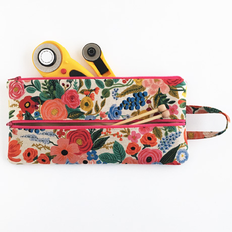 Wildwood Double Zip Pouch