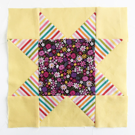 Sawtooth Star Quilt Block 4