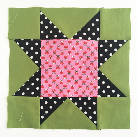 Sawtooth Star Quilt Block 5