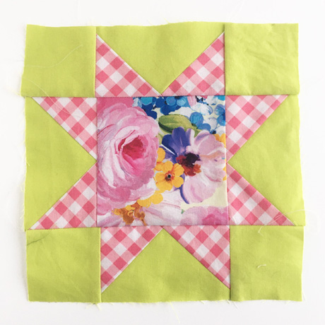 Sawtooth Star Quilt Block 6