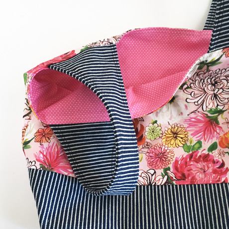 Chrysanthemums Project Tote Bag Lining
