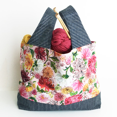 Chrysanthemums Project Tote Bag