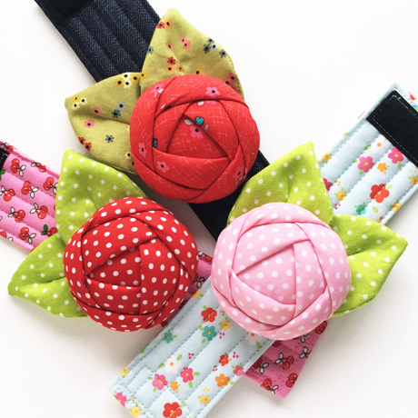 Pincushion cuffs
